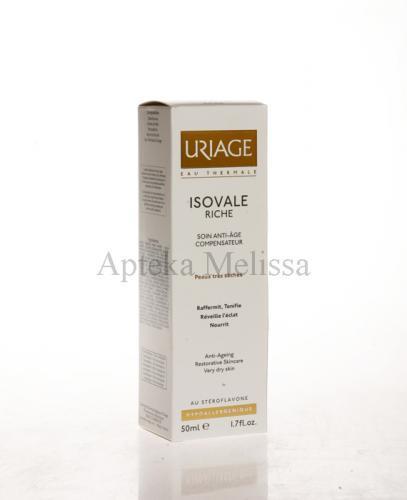 URIAGE ISOVALE RICHE Krem poprawiający owal twarzy do skóry suchej - 50 ml - Apteka internetowa Melissa