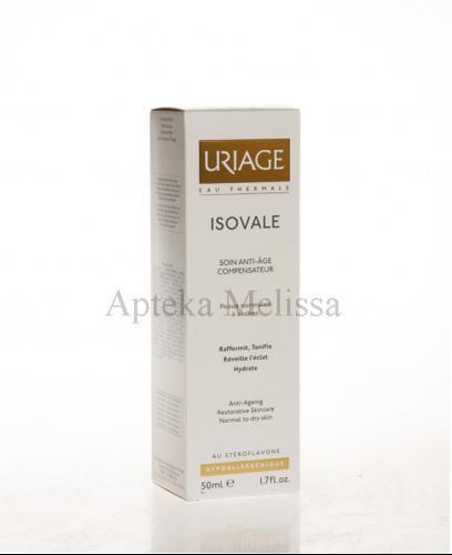 URIAGE ISOVALE Krem poprawiający owal twarzy dla skóry normalnej i mieszanej - 50 ml - Apteka internetowa Melissa