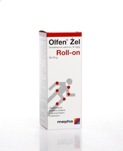 OLFEN ROLL-ON Żel - 50 g - Apteka internetowa Melissa