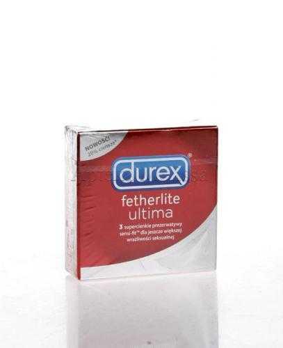 DUREX FETHERLITE ULTIMA Prezerwatywy supercienkie - 3 szt.