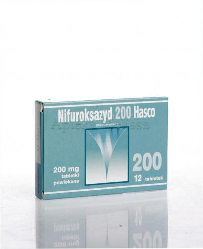 NIFUROKSAZYD 200 Hasco - 12 tabl. - Apteka internetowa Melissa