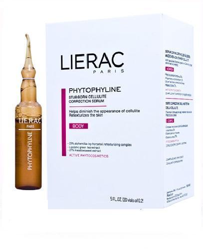 LIERAC PHYTOPHYLINE Ampułki redukujące zaawansowany cellulit - 20 amp. x 7,5 ml - Apteka internetowa Melissa