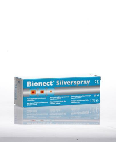 BIONECT Silverspray na trudno gojące się rany, opatrunek w sprayu - 50 ml - Apteka internetowa Melissa
