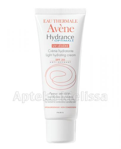 AVENE Hydrance Optimale UV Legere Krem nawilżający z filtrem SPF20 - 40 ml