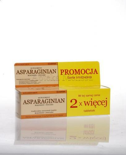ASPARAGINIAN Magnezu-Potasu - 100 tabl. - Apteka internetowa Melissa