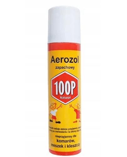100P NATURAL Aerozol przeciw komarom, meszkom i kleszczom - 75 ml - Drogeria Melissa