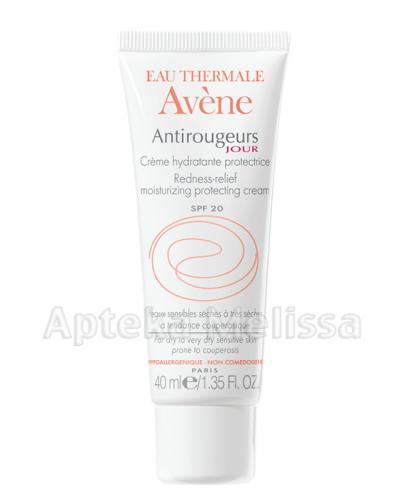 AVENE Antirougeurs Jour Krem do skóry wrażliwej, naczynkowej, suchej i bardzo suchej - 40 ml  - Drogeria Melissa