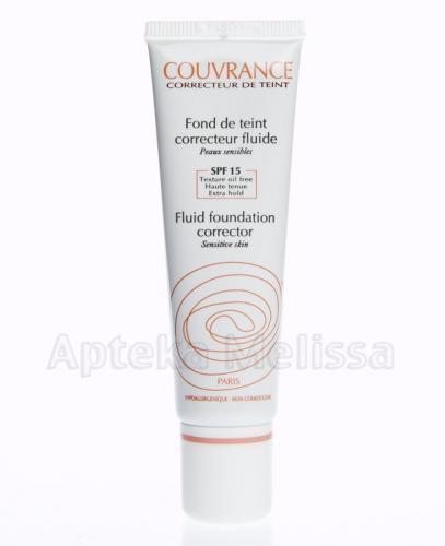 Avene Couvrance Podkład korygujący we fluidzie 03 piaskowy beż - 30 ml - Apteka internetowa Melissa