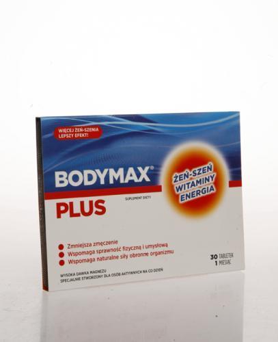 BODYMAX PLUS Kompletny zestaw witamin i minerałów - 30 tabl.