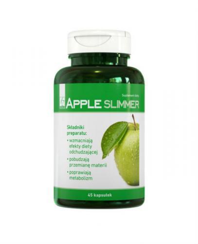 APPLE SLIMMER Preparat na bazie octu jabłkowego - 45 kaps. - Apteka internetowa Melissa