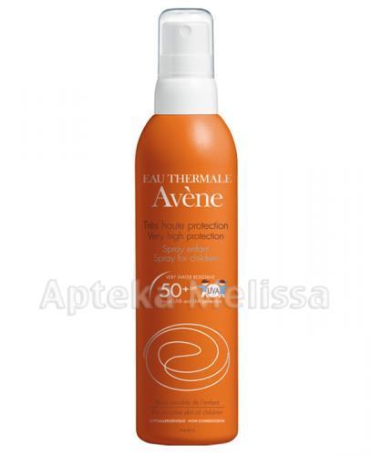 AVENE Spray dla dzieci z bardzo wysoką ochroną przeciwsłoneczna SPF50+ - 200 ml  - Apteka internetowa Melissa