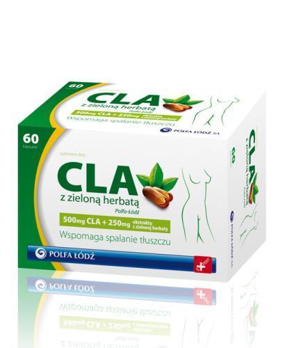 CLA Z zielona herbatą - 60 tabl. - Apteka internetowa Melissa