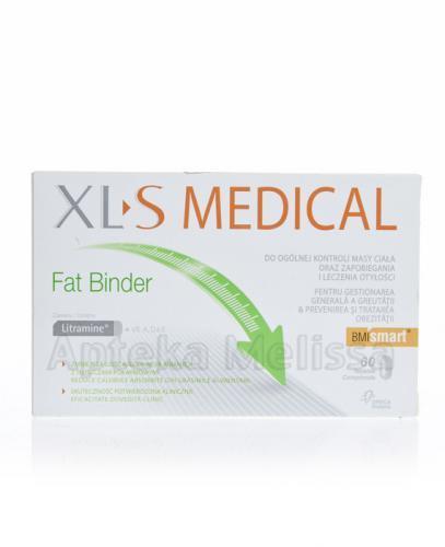 XL-S MEDICAL FAT BINDER - 60 tabl ( XLS ) - Apteka internetowa Melissa