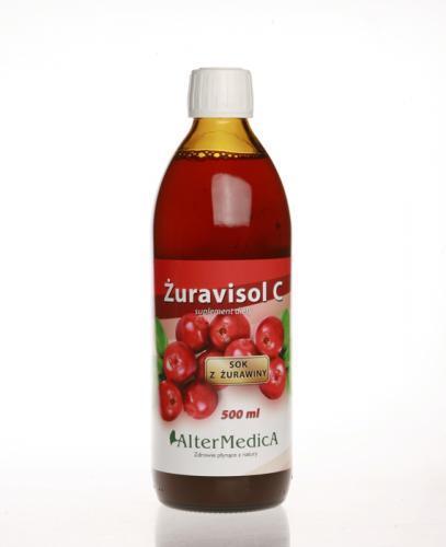 ŻURAVISOL C Sok z żurawiny - 500 ml - Apteka internetowa Melissa