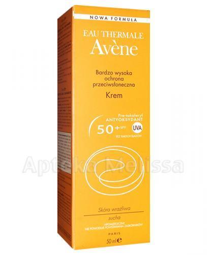 AVENE Krem z bardzo wysoką ochroną przeciwsłoneczną SPF50 - 50 ml  - Apteka internetowa Melissa