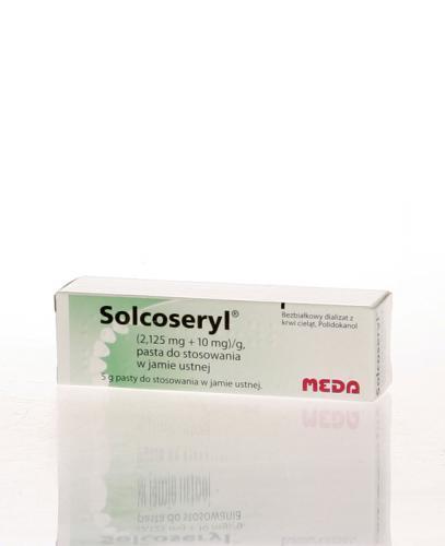 SOLCOSERYL Pasta - 5 g. Stany zapalne w jamie ustnej - cena, opinie, stosowanie - Apteka internetowa Melissa