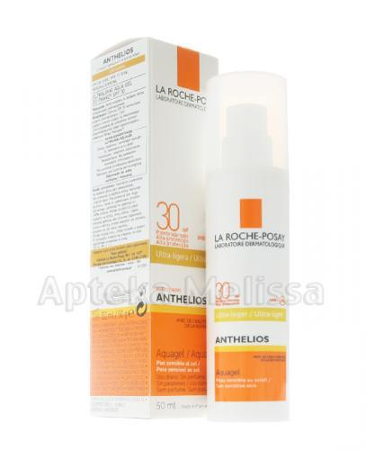 LA ROCHE-POSAY ANTHELIOS Ultralekki aqua-gel do twarzy SPF30 - 50 ml - Apteka internetowa Melissa