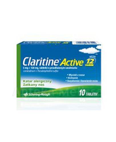 CLARITINE ACTIVE - 10 tabl.