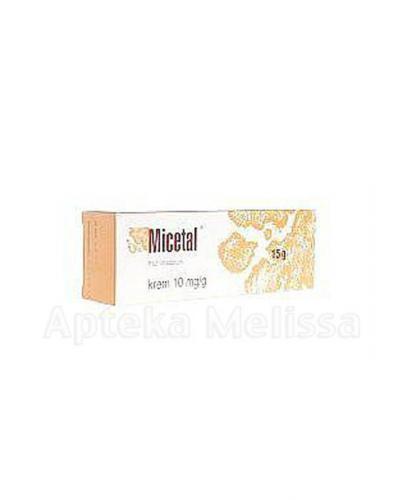 MICETAL 0,01 w 1g Krem - 15 g - Apteka internetowa Melissa