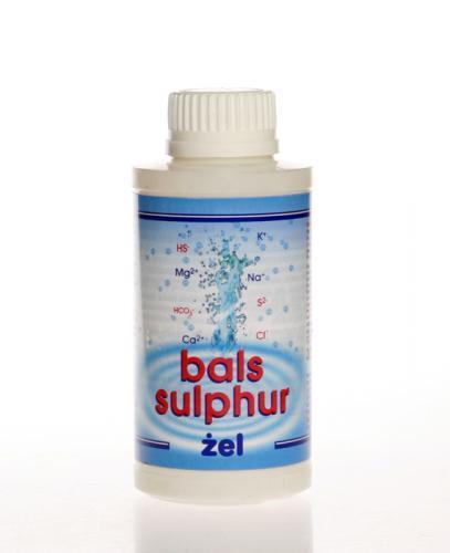 BALS-SULPHUR Żel zmniejsza bóle stawów przy ruchu bierny i chodzeniu - 300 g