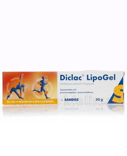 DICLAC LIPOGEL - 50 g - Apteka internetowa Melissa