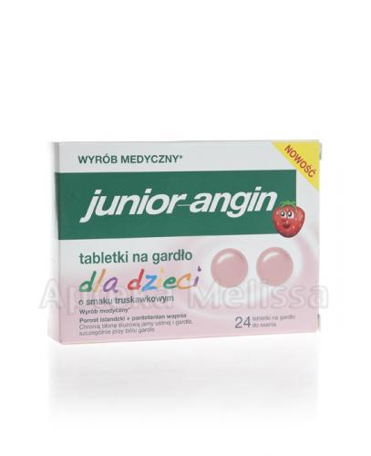JUNIOR-ANGIN - 24 tabl. - Drogeria Melissa