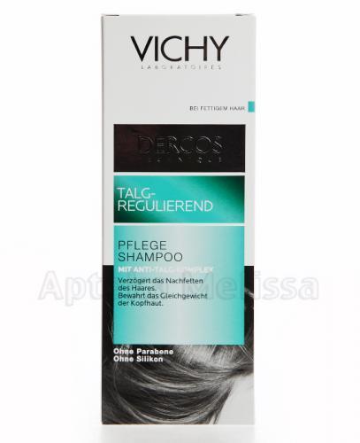 VICHY DERCOS Szampon do włosów tłustych - 200 ml