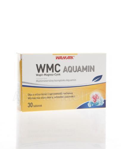 WALMARK WMC AQUAMIN Wapń-Magnez-Cynk - 30 tabl. - Apteka internetowa Melissa