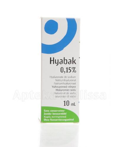 HYABAK 15 mg - 10 ml