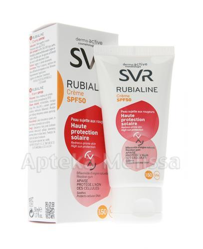SVR RUBIALINE SPF50 Krem ochronny z filtrem - 50 ml - Apteka internetowa Melissa
