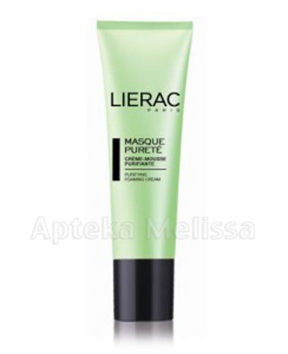 LIERAC MASQUE PURETE Maska oczyszczająca glinka zielona - 50 ml - Apteka internetowa Melissa