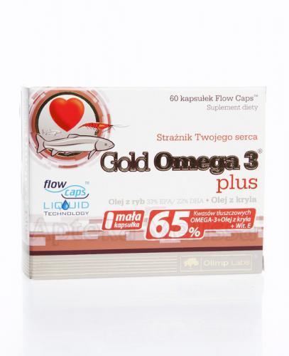 OLIMP GOLD OMEGA 3 PLUS - 60 kaps.