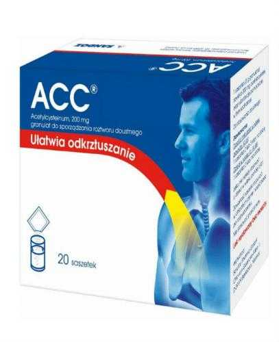 ACC 200 mg  - 20 sasz.
