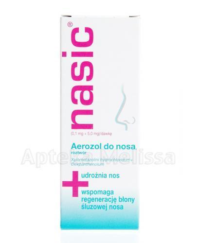 NASIC Aerozol do nosa - 10 ml - Apteka internetowa Melissa