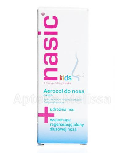 NASIC KIDS Aerozol do nosa - 10 ml - Apteka internetowa Melissa