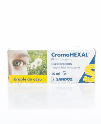 CromoHEXAL Krople do oczu - 10 ml - Apteka internetowa Melissa