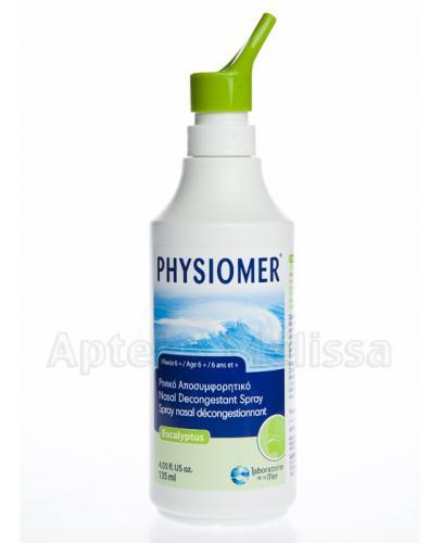 PHYSIOMER EUKALIPTUS Spray - 135 ml    - Apteka internetowa Melissa