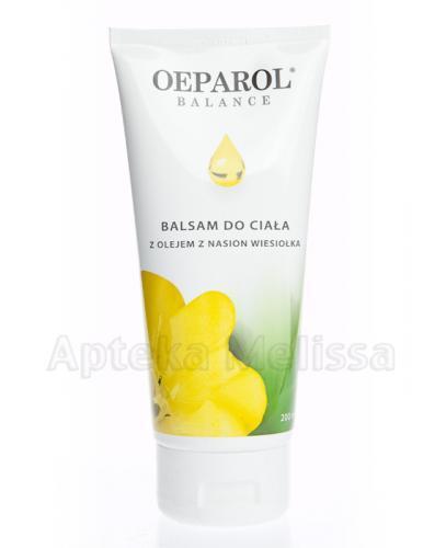 OEPAROL BALANCE Balsam do ciała z olejem z nasion wiesiołka - 200 ml - Apteka internetowa Melissa