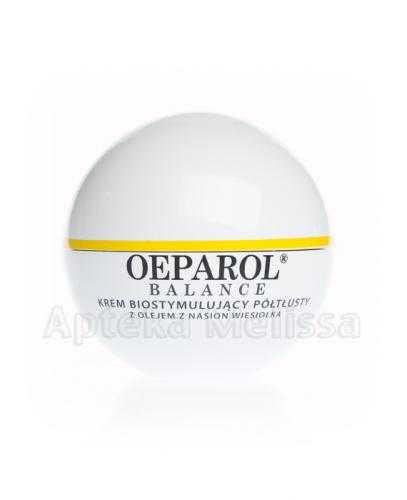 OEPAROL BALANCE Krem biostymulujący półtłusty z olejem z nasion wiesiołka - 50 ml