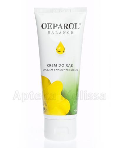 OEPAROL BALANCE Krem do rąk z olejem z nasion wiesiołka - 75 ml - Apteka internetowa Melissa