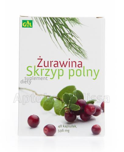 GAL ŻURAWINA + SKRZYP POLNY -  48 kaps.  - Drogeria Melissa