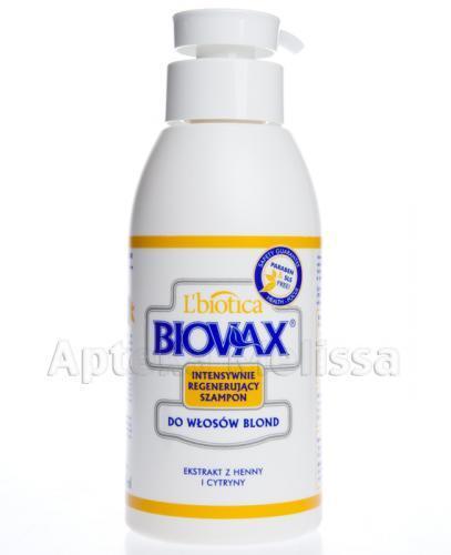 BIOVAX DO WŁOSÓW BLOND Intensywnie regenerujący szampon - 400 ml - Apteka internetowa Melissa