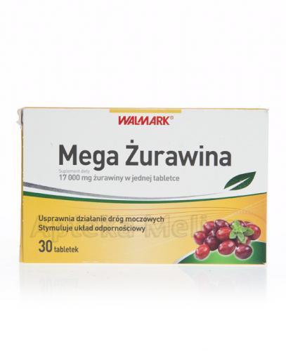 WALMARK MEGA ŻURAWINA - 30 tabl. - Apteka internetowa Melissa