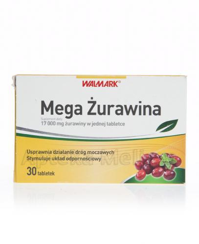 WALMARK MEGA ŻURAWINA - 30 tabl. - Drogeria Melissa