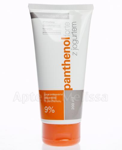 PANTHENOL FORTE Mleczko do ciała z jogurtem 9% - 200 ml - Apteka internetowa Melissa
