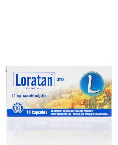LORATAN PRO 10 mg - 10 kaps.