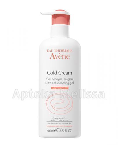 AVENE Cold Cream Żel do mycia twarzy i ciała -  400 ml - Apteka internetowa Melissa