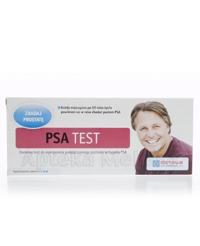 PSA TEST Do wykrywania antygenu prostaty - 1 szt.  – Apteka internetowa Melissa