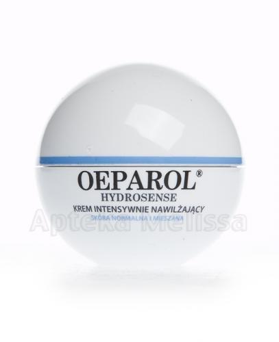 OEPAROL HYDROSENSE Krem intensywnie nawilżający, ochronny SPF 15 - 50 ml  - Apteka internetowa Melissa