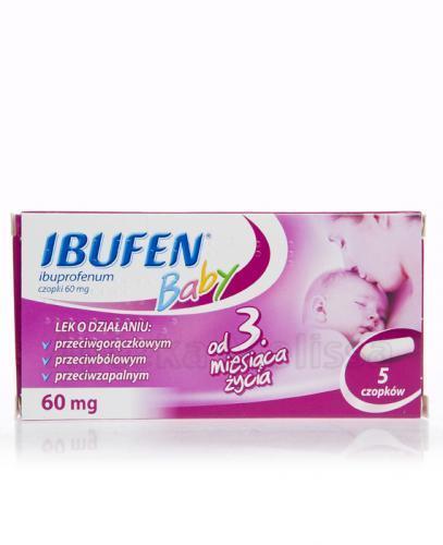 IBUFEN BABY 60 mg - 5 szt. - Apteka internetowa Melissa